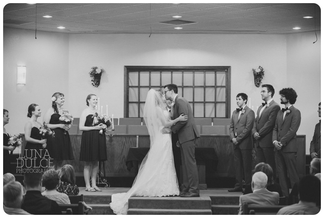 Hillsdale College wedding